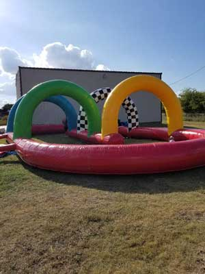 Indy Race Track Rental Inflatable Party Magic Texas