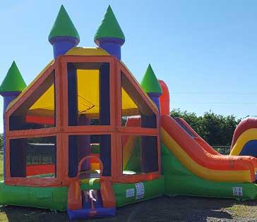 Kingdom Bounce House Combo Rental