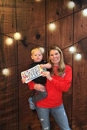 Photo Booth Rental Barnwood Background