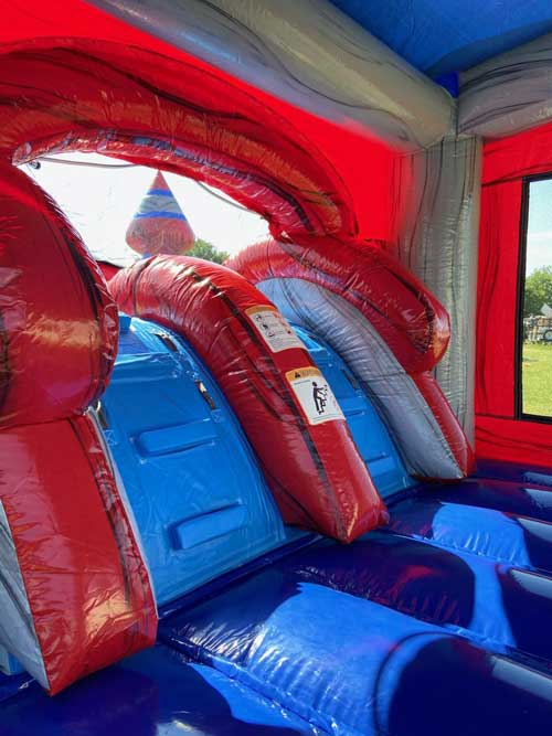 Platinum bounce house combo rental Inside View