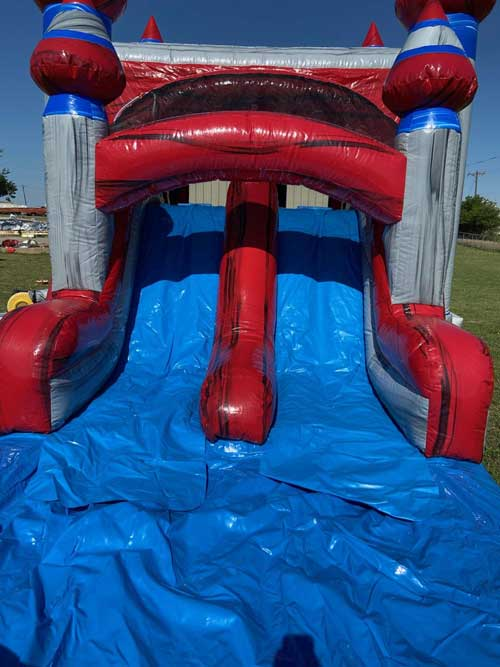 Platinum 4n1 wet Bounce House Combo Rental Slide View