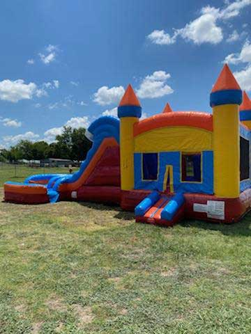 Storm 4n1 Wet Bounce House Combo Rental from Inflatable Party Magic LLC Cleburne, Texas