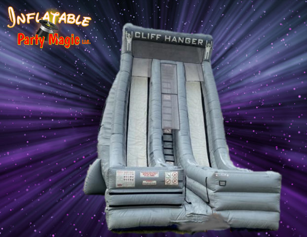 27ft. Cliffhanger Double Lane Slide Rental
