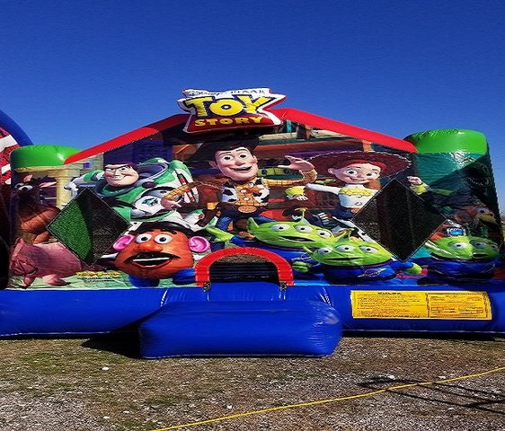 Toy Story Licensed Bounce House
