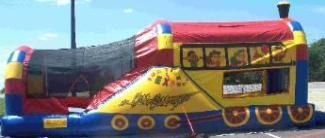 Choo Choo Train 3n1 Water Slide Combo
