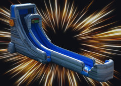 20ft. Caustic Drop Extreme Water Slide Rental