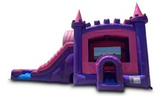 Pink Princess 4n1 Waterslide