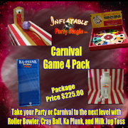 Carnival Game 4 Pack