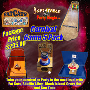 Carnival Game 5 Pack