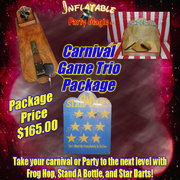 Carnival Game Trio Package