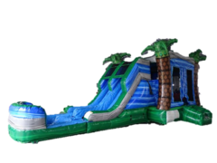 Hurricane 4n1 dual laned  Water Slide