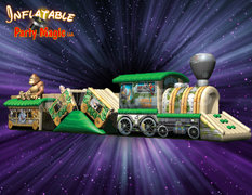 Jungle Train Toddler Obstacle Course