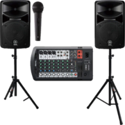 PA System and Speaker Rental