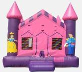 Pink & Purple Dream Castle Bounce House