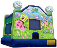 Spongebob Licensed Bounce House