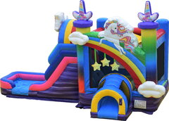 Unicorn Rainbow Water Slide
