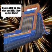 Velcro Wall and 18ft. Slide