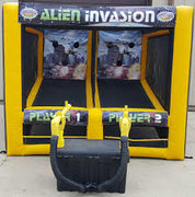 Alien Invasion Blaster Game