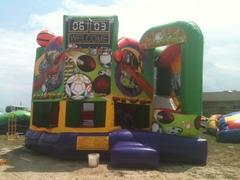 All Sports 5n1 Bounce House Combo Waterslide