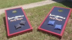 Corn Hole Game  (bean bag toss)