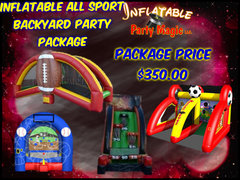 Inflatable All Sport Backyard Party Package