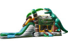 Jurrasic Dinosaur Bounce House Combo Rental