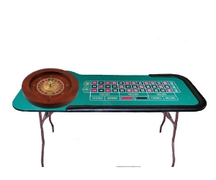 Roulette Table with Professional Grade Wheel