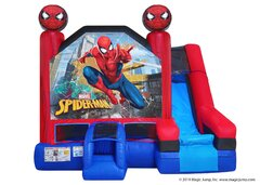 Spider Man 5n1 Combo water Slide