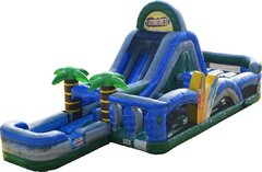 Tropical Obstacle  Course Wet Use