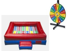 Twister Game with Giant Spinning Wheel