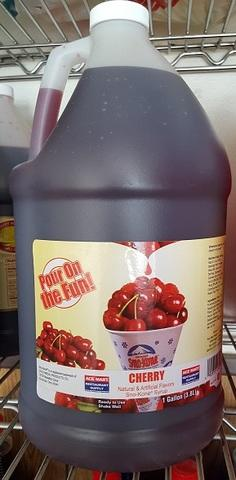 Sno Cone supplies & Gallon Size Cherry
