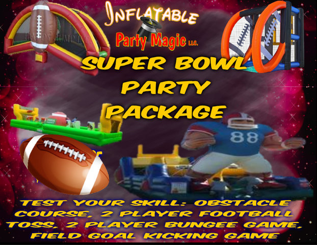 Super Bowl Party Package