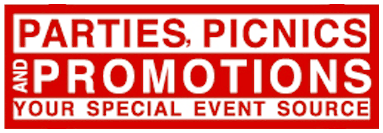 Parties, Picnics and Promotions Logo