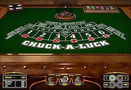 Chuck a luck table -PPP
