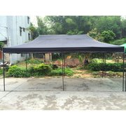 Frame tent 10'X20' (black) - PPP