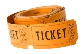Roll of tickets -PPP