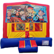 JAKE AND THE NEVERLANDS Bounce House 1