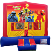 SESAME STREET PARTY Bounce House
