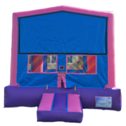 Paw Patrol-Purple, Pink & Blue Bounce House