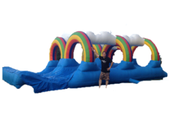 WEEKEND OR ANY TWO DAY RENTAL! Giant Double Lane Slip N' Slide-44'