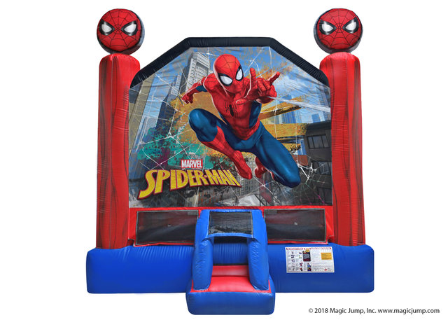 Marvel Spider Man Bounce House