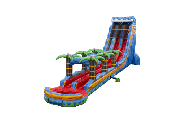 Fire Blast Waterslide