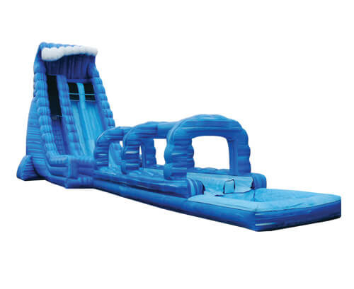 Blue Crush Dual Lane Waterslide