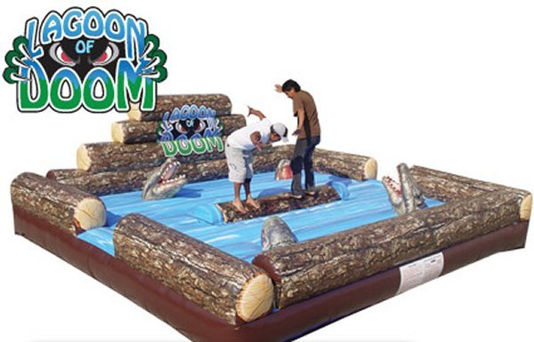 Lagoon of Doom (Log Roller)