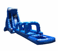 Blue Crush Single Lane Waterslide