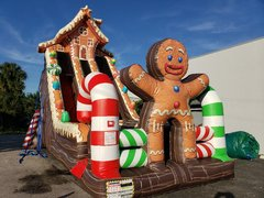 Ginger Bread Holiday Slide