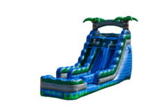 20 Blue Lagoon Dual Lane Waterslide..