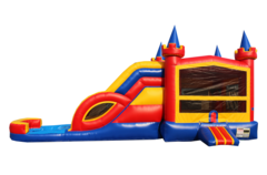 Lucky Multicolor Castle Combo Waterslide