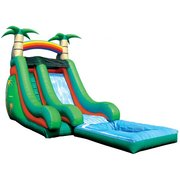 Super Splash Tropical Waterslide