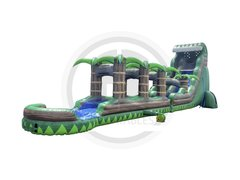 Emerald Crush Waterslide With Slip N Slide